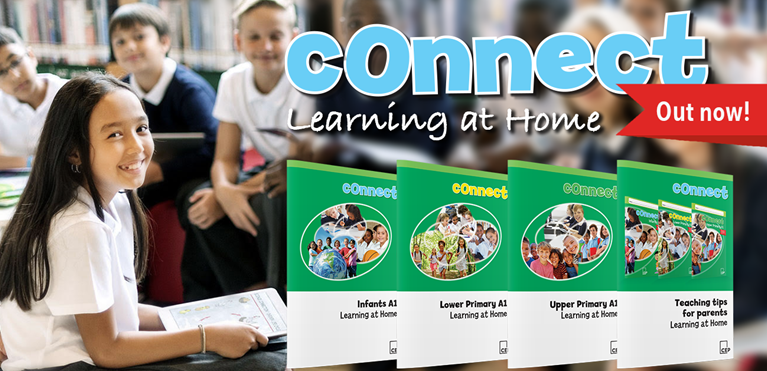 Connect at home banner